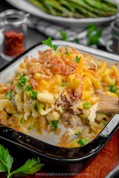 Baked Pasta with Chicken Casserole - Sandra's Easy Cooking