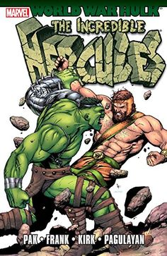 Incredible Hulk Cover: Hulk and Hercules by Gary Frank Marvel Comics Poster - 61 x 91 cm Hulk Marvel, Marvel Comics, Marvel Art, Marvel Heroes, Hulk Comic, Spiderman, Marvel Comic Character, Comic Book Characters, Comic Book Heroes