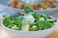 Avocado-Vogerlsalat - Rezept | GuteKueche.at