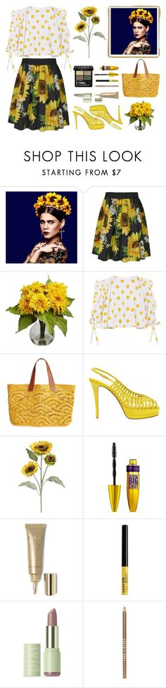 """""""•15•"""" by oliviathe ❤ liked on Polyvore featuring Alice by Temperley, Nearly Natural, Caroline Constas, Mar y Sol, Giuseppe Zanotti, Pier 1 Imports, Stila, Pixi, Lord & Berry and Gucci"""