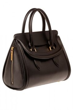 Alexander McQueen Alexander McQueen Bond Black Small Bag, $2,295, available at Alexander McQueen.  #r29summerstyle