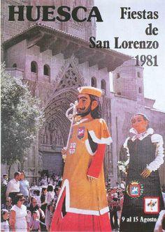 Fiestas de San Lorenzo, año 1981