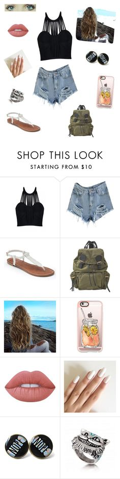 """""""Untitled #89"""" by inoana on Polyvore featuring Posh Girl, Apt. 9, Burberry, Casetify and Lime Crime"""