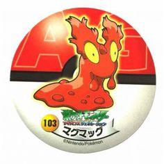 Pokemon 2006 Sapporo Ichiban Ramen AG Collection Series Slugma Sticker