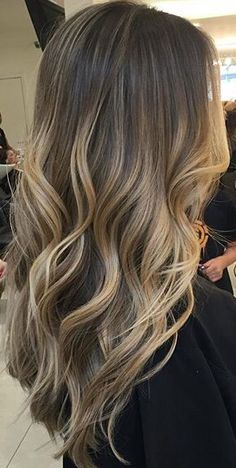 Romeufilepe ✨ Ombre Hair Color, New Hair Colors, Balayage Hair, Bayalage, Hair 2018, Balayage Highlights, Dream Hair, Hair Inspo, Hair Inspiration