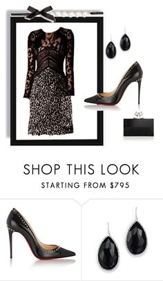 """""""Outfit # 3404"""" by miriam83 ❤ liked on Polyvore featuring Christian Louboutin, Ippolita and Charlotte Olympia"""