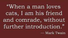 Mark Twain - cat