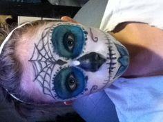 Sugar skull  fx makeup