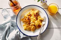 Toasted Pita Scrambled Eggs (Fatoot Samneh) From Leah Koenig Recipe on Pita Recipes, Egg Recipes, Cooking Recipes, Bisquick Recipes, What's Cooking, Cake Recipes, Dessert Recipes, Dinner Recipes, Recipe Directions