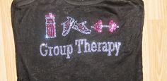 Group Therapy. Burnout Racerback Tank Top. Workout Shirt. Womens Fitness Shirt. Workout Clothing. Excercise Tank Top.Yoga. fitness Tee. on Etsy, $24.95