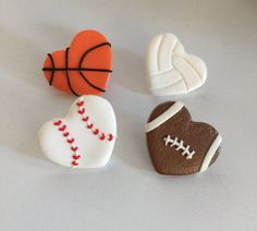 Sports Pin. Baseball Pin Football Pin Volleyball Pin by LIVCharmed