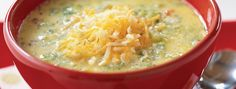Minute®  Brown Rice - Broccoli Cheese and Rice Soup - We can help.®