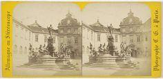 Charles Gerard | Munich (Baviere), Fontaine de la Residence, Charles Gerard, 1860 - 1870 |