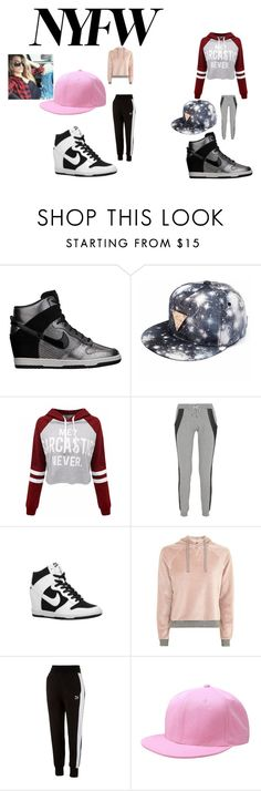 """NYFW Dance team"" by explorer-14484921021 on Polyvore featuring NIKE, WithChic, Lot78, Topshop and Puma"