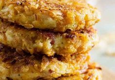 super crispy onion potato cakes
