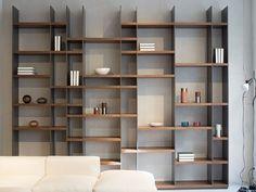 JOHAN ist zeitloses Design in charismatischer Farb- und Fo Bookshelf Design, Bookcase Shelves, Shelving, Bookcases, Cabinet Furniture, Furniture Design, Home Office Design, House Design, Muebles Living