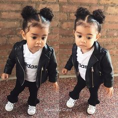 Little Kid Fashion, Cute Little Girls Outfits, Cute Kids Fashion, Baby Girl Fashion, Toddler Fashion, Kids Outfits, Baby Outfits, Cute Mixed Babies, Cute Babies