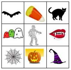 Free Halloween Bingo Cards Perfect for the Classroom or at Home: Teaching Village's Printable Halloween Bingo Cards
