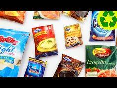 Cómo hacer comida para muñecas con papel - Primera Parte Paquetes - manualidadesconninos - YouTube