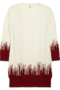 IRO|Ivey intarsia alpaca-blend sweater|NET-A-PORTER.COM