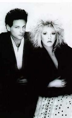 To me, this is when Lindsey really started to own his beardless look. He was always handsome, but all the sudden for Tango. Sexy, powerful, and his musical creativity just exploded. He has been a master of his craft ever since. Stevie Nicks Now, Stevie Nicks Fleetwood Mac, Stevie Nicks Lindsey Buckingham, Buckingham Nicks, Down With Love, Rumours Album, Fairy Godmother, Rock And Roll, Handsome