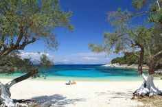 Emblisi beach Kefalonia, Greece
