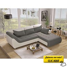 JUSThome Linea Sofá esquinero chaise longue ante... #sofa
