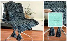 Crochet XL con Santa Pazienzia: Haz a ganchillo una preciosa manta a punto abanico | https://www.katia.com/blog/es/crochet-xl-manta-ganchillo/