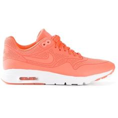 Nike Air Max 1 Thea Sneakers (7.280 RUB) ❤ liked on Polyvore featuring shoes, sneakers, nike, tenis, chaussure, laced shoes, nike footwear, laced sneakers, round toe shoes and nike shoes