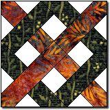 Kentucky Chain quilt block