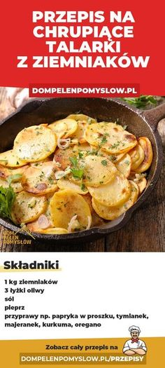 Healthy Dishes, Healthy Eating, Polish Recipes, Side Dishes, Vegan Recipes, Food And Drink, Yummy Food, Meals, Dinner