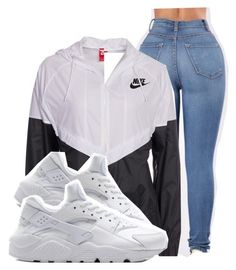 Untitled #776 by iamlexus ❤ liked on Polyvore featuring Topshop and NIKE
