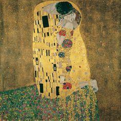 arte austríaca, Gustav Klimt, O Beijo