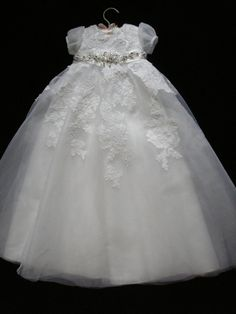 Marie's Custom Christening or Baptism Gown made by BertasBoutique