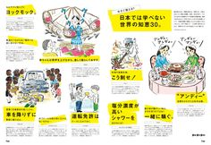 世界で生き抜く50の知恵 - Brutus No. 787 | ブルータス (BRUTUS) マガジンワールド Leaflet Design, Booklet Design, Flyer Design, Layout Design, Web Design, Dm Poster, D Book, Japanese Graphic Design, Catalog Design