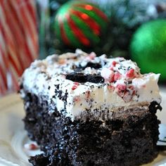 Better than... Christmas Cake @keyingredient #cake #dessert #chocolate