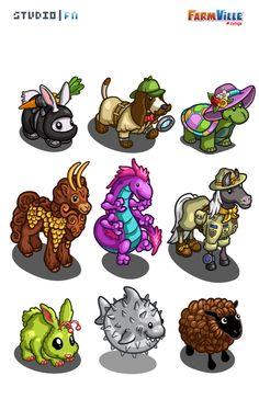 Farmville Animals 5