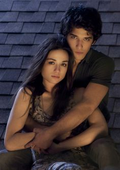 Crystal Reed and Tyler Posey aka Allison Argent and Scott McCall- Teen Wolf