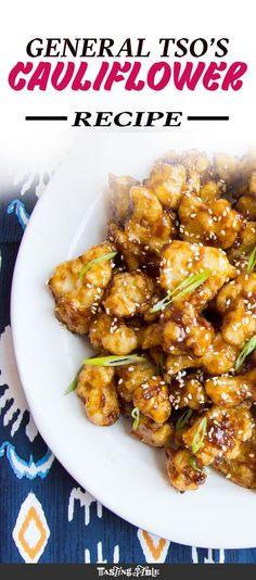 The sweet-and-sour fried cauliflower that beats chicken!