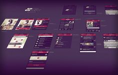 Wireframe showcase ui