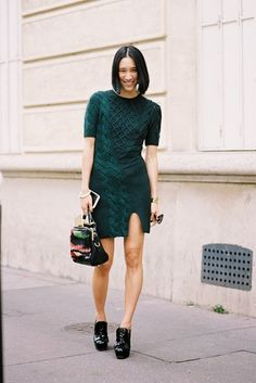 Paris Fashion Week....Eva Chen