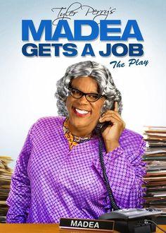 Madea Gets A Job: The Play - Christian Movie/Film on DVD/Blu-ray. http://www.christianfilmdatabase.com/review/madea-gets-a-job-the-play/