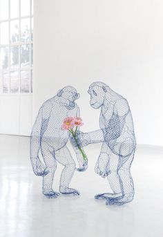 Wired monkeys