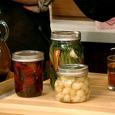the chew | Recipe  | Michael Symon's Pickled Green Beans, fermented