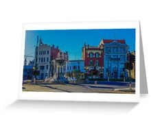 View Point Bendigo and The Alexandra Fountain Greeting Card