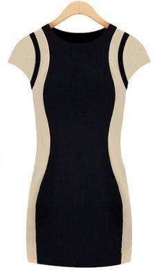 Korean round collar OL dress. amazing dress