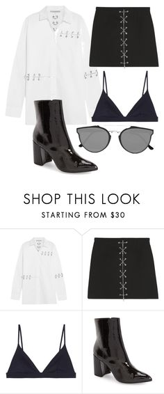 """""""Untitled #212"""" by foxybot ❤ liked on Polyvore featuring Christopher Kane, Michael Kors, COS, Topshop and RetroSuperFuture"""