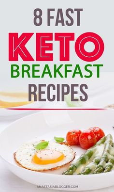 Keto recipes. 8 Easy Keto Breakfast to start burning fat. Keto Breakfast on the go, Keto breakfast make-ahead recipes. Eggs cooked in creative ways are the basis of your breakfast on a Ketogenic diet. But it's not eggs only! You can have a no eggs Keto breakfast with muffins. #keto #ketorecipes #ketodiet #ketogenic