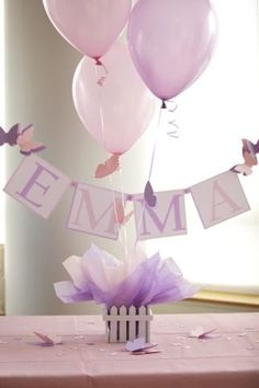 Butterfly Party Centerpiece