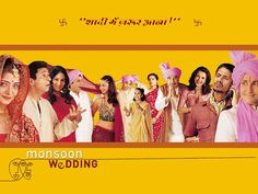 """March Madness March of the Day: """"Baraat"""" from Monsoon Wedding by Mychael Danna Mira Nair, Monsoon Wedding, Movies Worth Watching, Comedy Movies, Films, March Madness, Streaming Movies, Hd 1080p, Movies Online"""